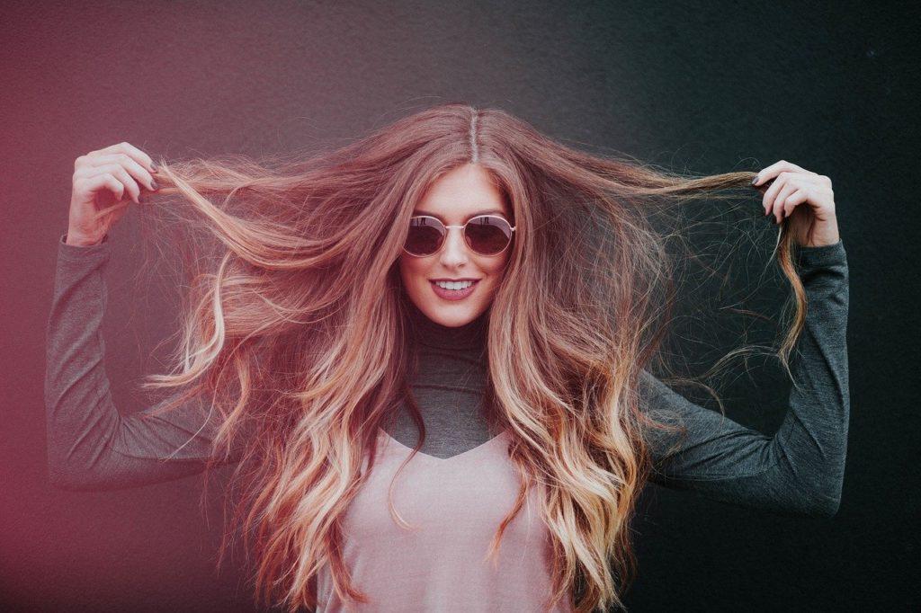 Zufrieden mit diesen Hair-Hacks